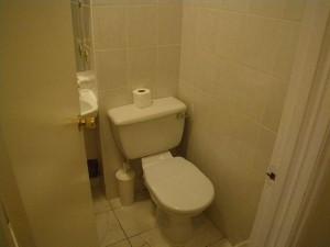 アスコットホテルロンドンのトイレ