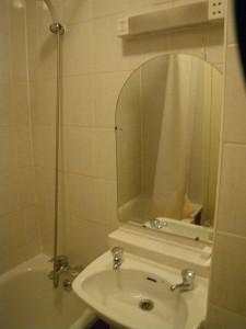 アスコットホテルロンドンのシャワー