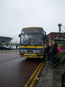 マジカルミステリーツアーのバス