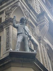 ジョン・レノンの像