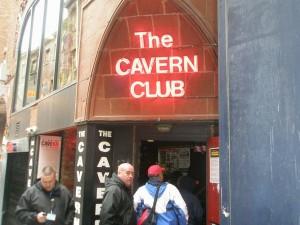 THE CAVERN CLUB入口