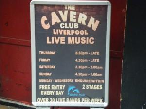 THE CAVERN CLUB ライブスケジュール