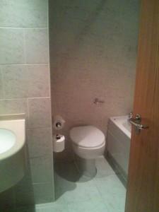 holiday inn hotel トイレ