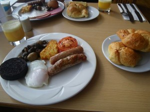 holiday inn hotel 朝食
