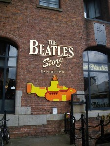 THE BEATLES STORY 入口付近